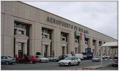Car hire Malaga airport photo by Terry Wha