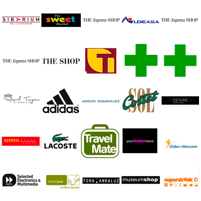 List of shops at Malaga Airport