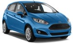 Rent a Ford Fiesta 5 doors automatic, Renault Clio 5 doors automatic
