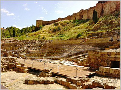 The Roman Theatre has its origins in the 1st Century - Photo by Andy Nash