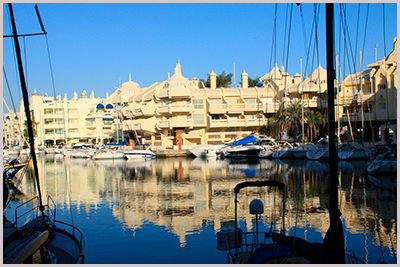 The award winning marina in Benalmadena - Photo by Bjørn