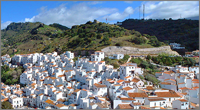 The picturesque village of Casares - Photo by Cycling man