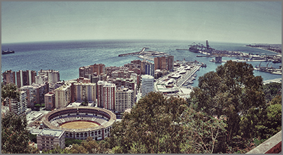 View of Malaga taken from the Alcazaba - Photo by José María Ila