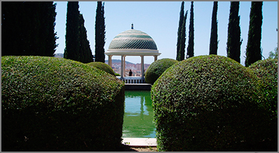 The Botanical gardens in Malaga - Photo by Panarria