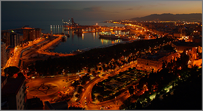Malaga city has a variety of night time entertainment  Photo by Dominik Starosz