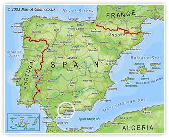 Situaci 243 N De M 225 Laga En El Mapa De Espa 241 A