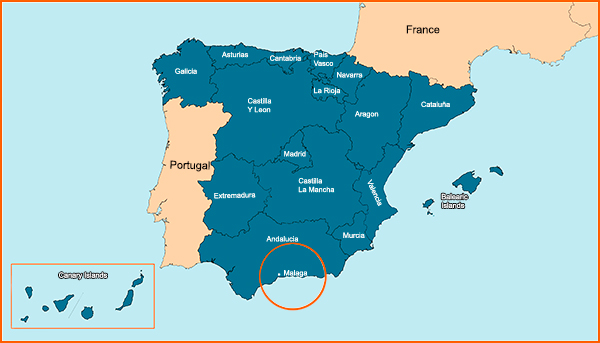 Map Of Spain Information About The Iberian Peninsula Including A