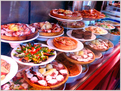 Tapas are popular with the Spanish -Photo by Ana Ulin